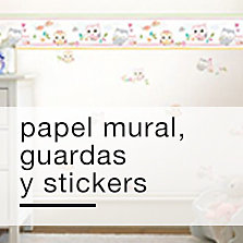 Papel Mural, guardas y stickers