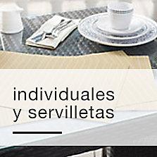 Individuales y servilletas