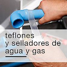 Teflones y selladores de agua y gas