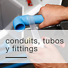 Conduits, tubos y fitting