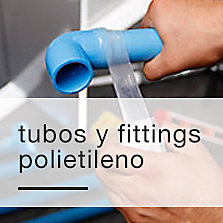 Tubos y fittings polietileno