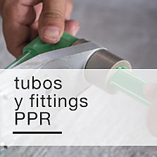 Tubos y fittings PPR