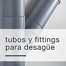 Tubos y fittings para desagüe