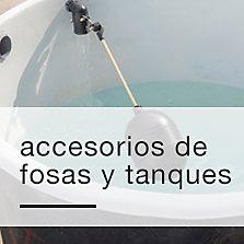 Accesorios de fosas y tanques