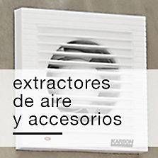 Extractores de aire y accesorios