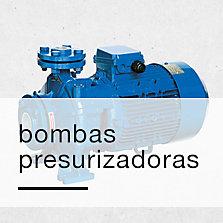 Bombas presurizadoras