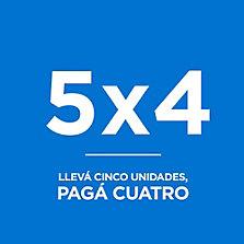5 x 4