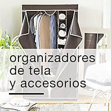 Organizadores de tela y accesorios