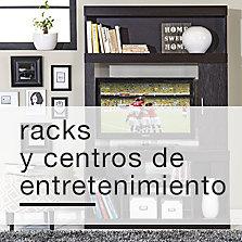 Racks y centros de entretenimiento