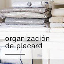 Organización de placard