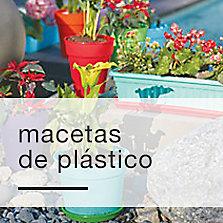 Macetas de plástico