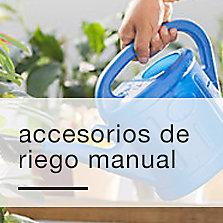 Accesorios de riego manual