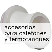 Accesorios de Calefones y Termotanques