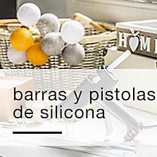Barras y pistolas de silicona