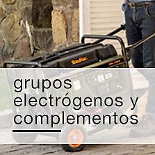 Grupos electrógenos y complementos
