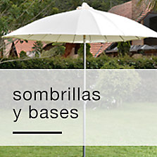 Sombrillas y bases