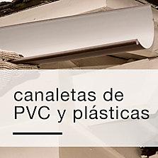 Canaletas de PVC y plásticas