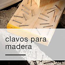 Clavos para madera