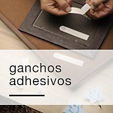 Ganchos adhesivos