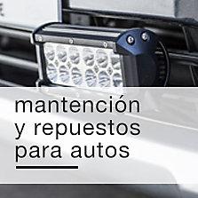 Mantención y repuestos para autos