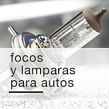 Focos y lámparas para autos