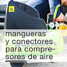 Mangueras y conectores para compresores de aire