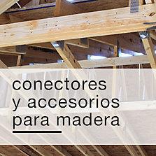 Conectores y accesorios para madera