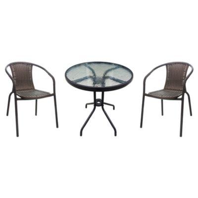 Combo: Juego de exterior con mesa + 2 sillas